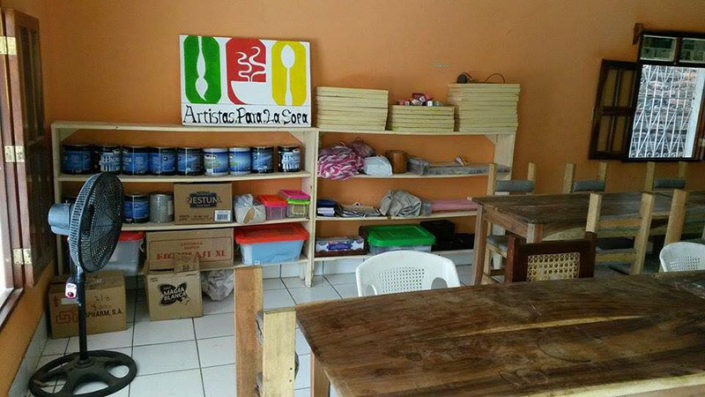 arts workshop La Paz Centro