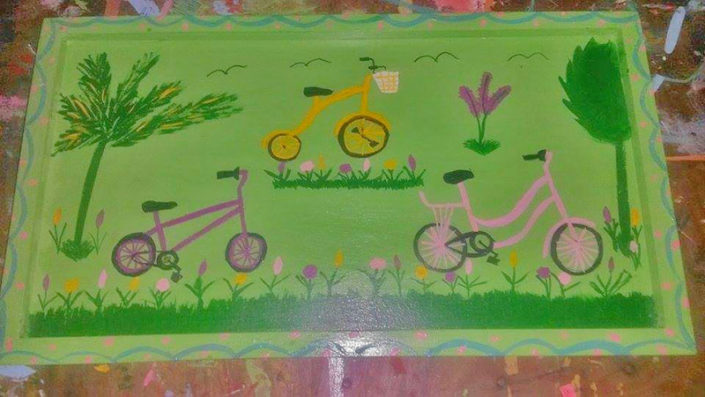 bicycle tray