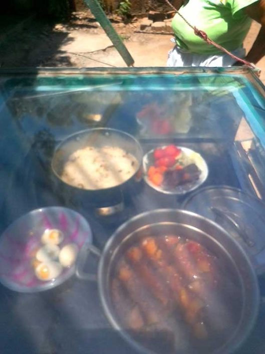 solar food from solar cooking enrichment class