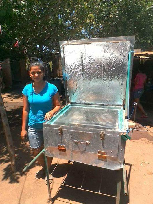 solar oven user